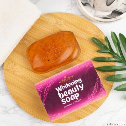 [100% Original] New Packaging Honey Glow Beauty Whitening Soap (150 gm)