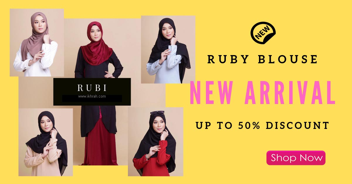 Promosi Ruby Blouse